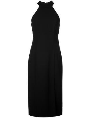 Crepe Halter Neckline Sheath Dress