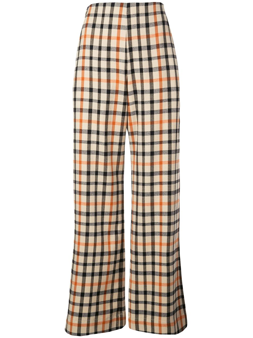 Nyo Flannel Check Print Pant Item # 20498