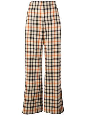 Nyo Flannel Check Print Pant
