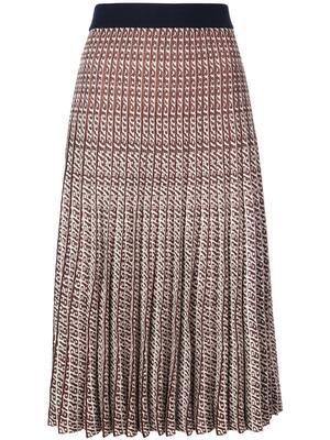 Cyrila Lurex Midi Skirt