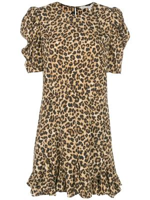 Lila Elbow Sleeve Short Dress