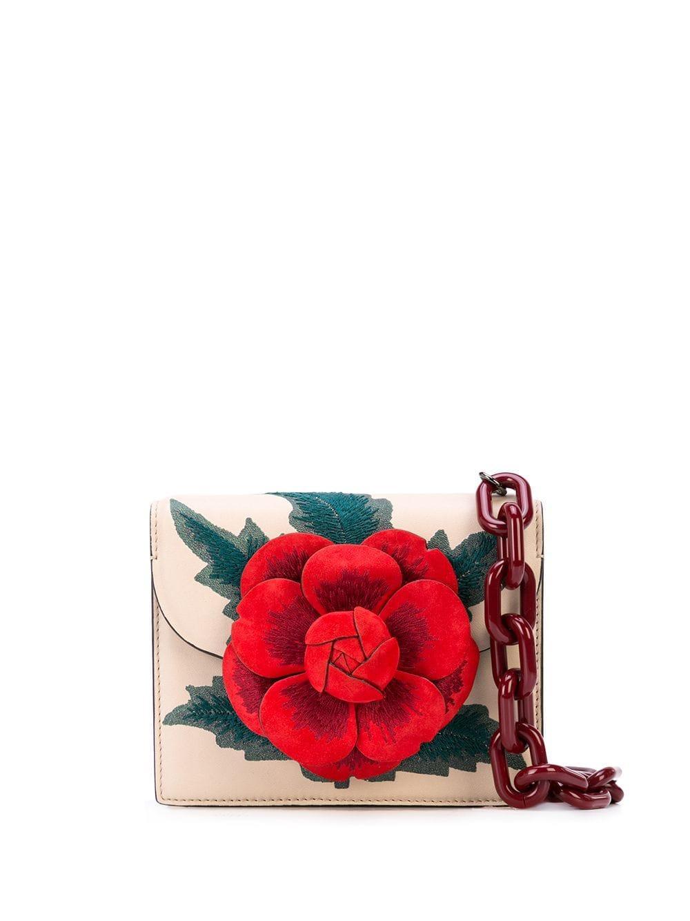 Mini Tro Calfskin With Embroidery