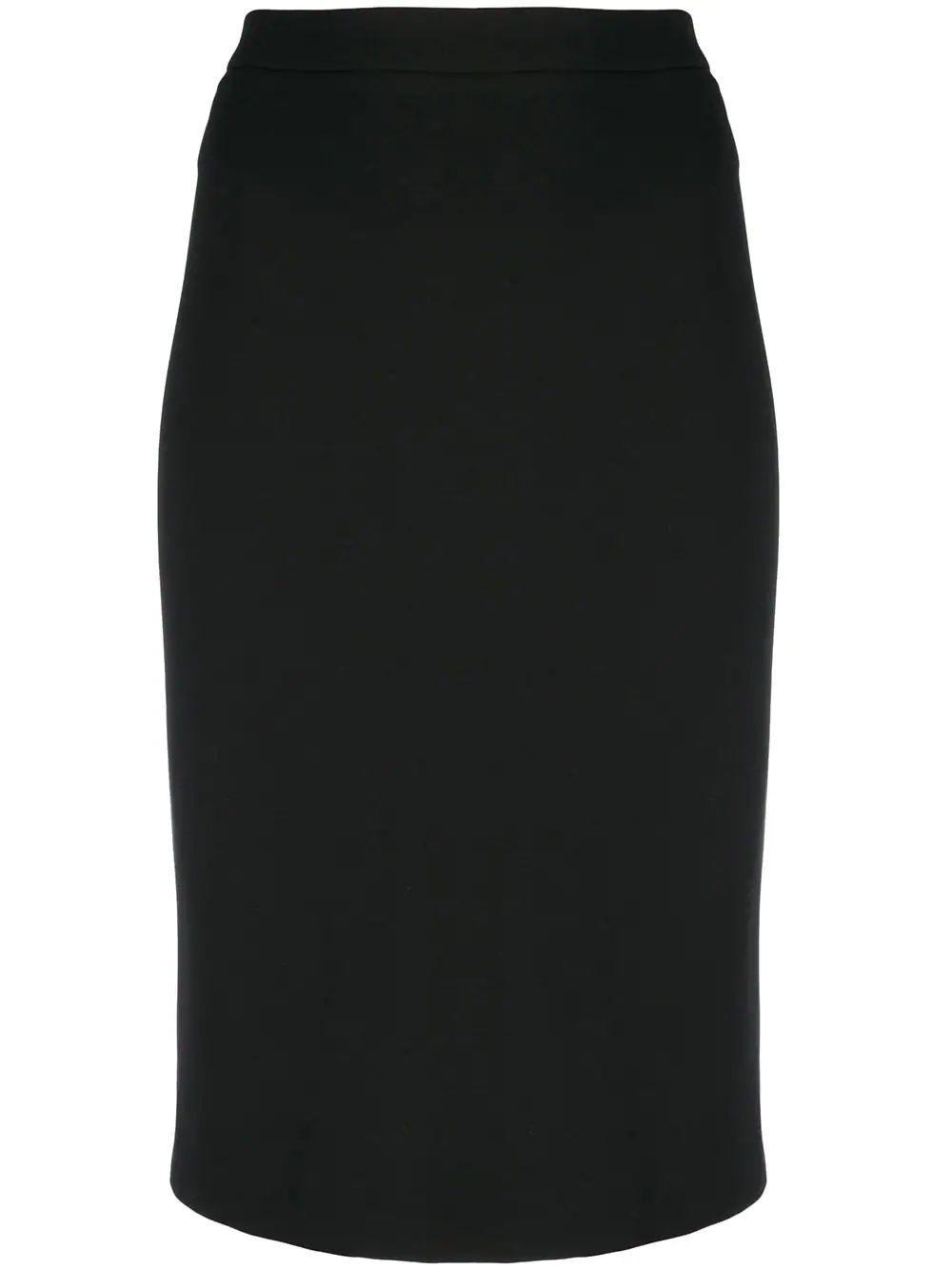 Ponte Pencil Skirt Item # F0426315