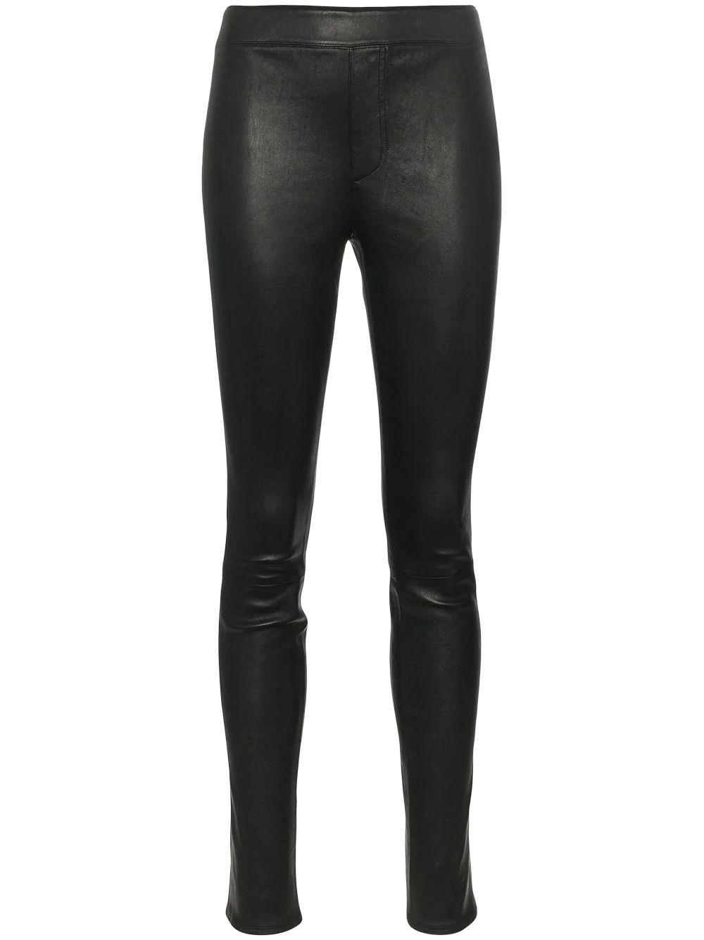 Stretch Leather Legging