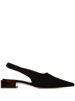 Pointed Toe slingback With Low Heel