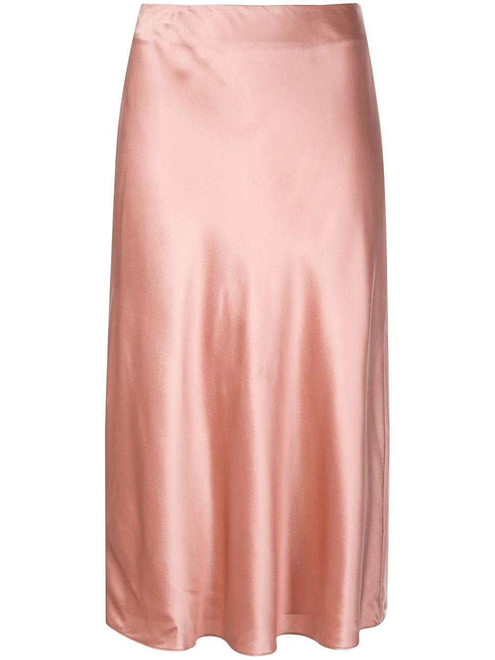 Marta Silk Slip Skirt