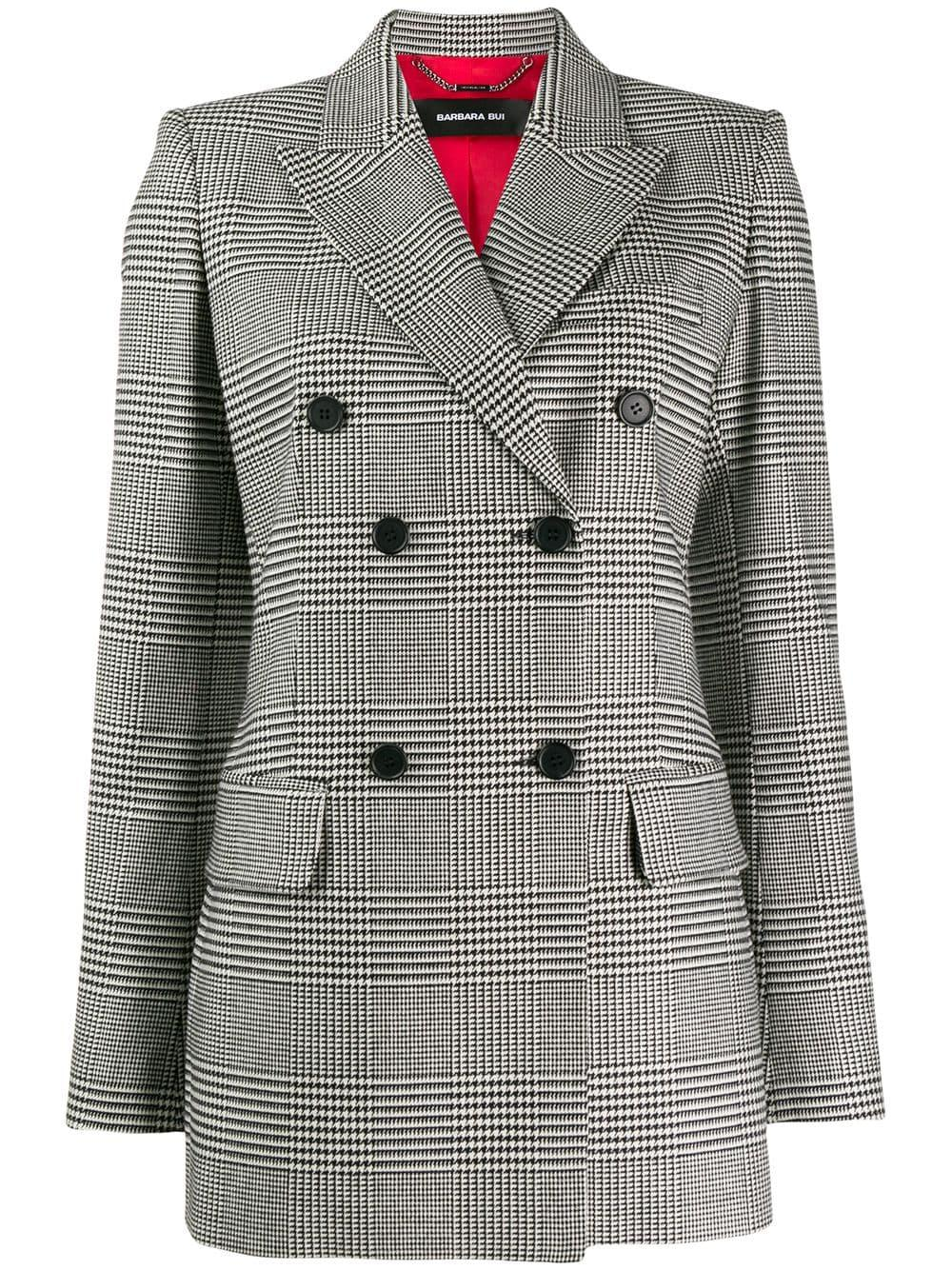 Fitted Double Breasted Jacket Prince DE Galles