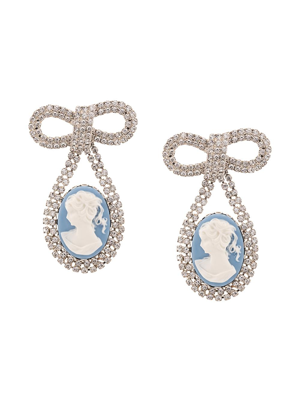 Guilia Cameo Earrings