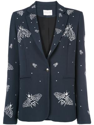 GAIA Embroidered Bee Blazer