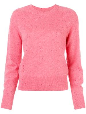 Long Sleeve T-Neck Fitted Sweater
