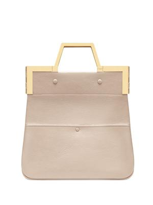 Shopping Flap Small Bag With Top Handle