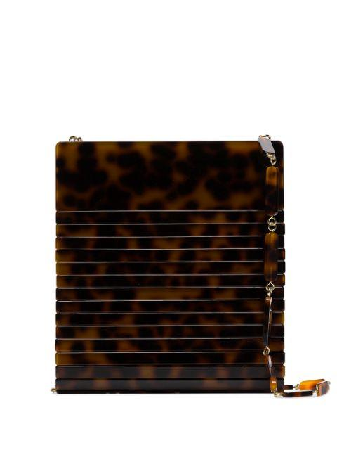 Dixie Tortoise Shoulder Bag Item # 23005AC