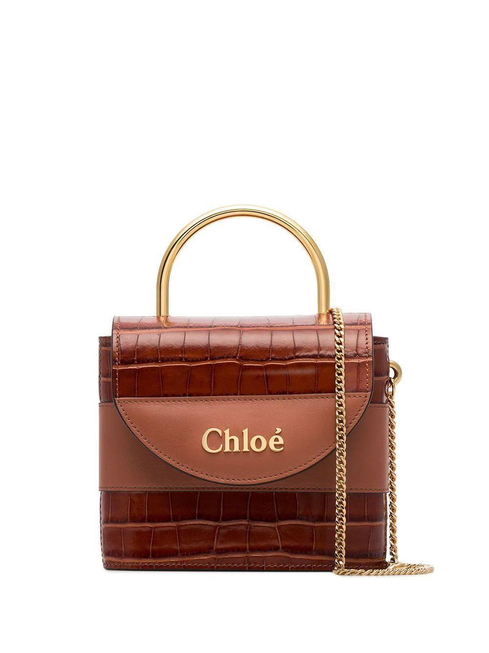 Baby Day Croc Embossed Bag Item # CHC19WS220A8726K