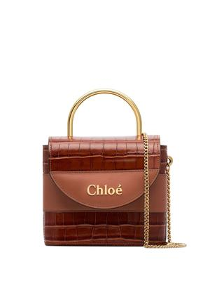 Baby Day Croc Embossed Bag