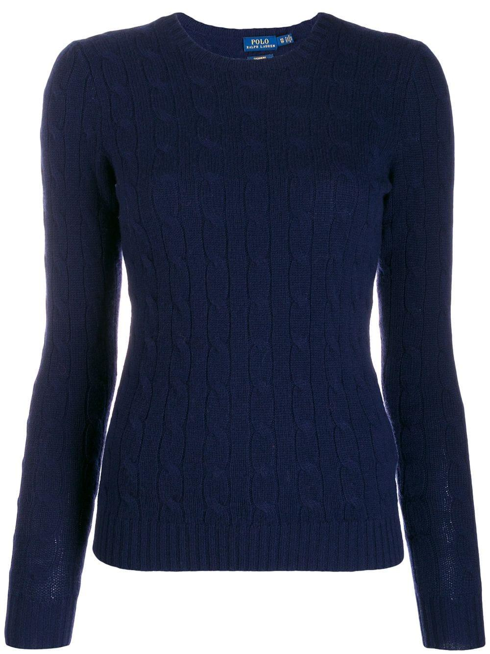Julianna Long Sleeve  Cashmere Cable Sweater