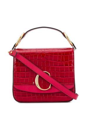 Chloe Croc Embossed Bag