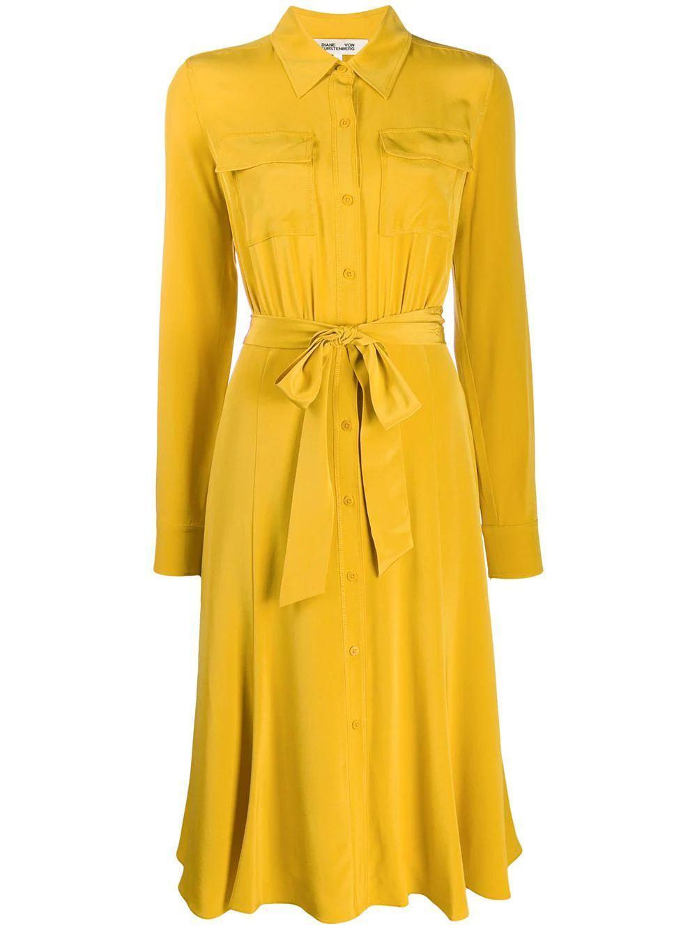 Antonette Collar Wrap Dress