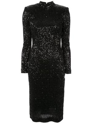 Mica Long Sleeve Midi Dress