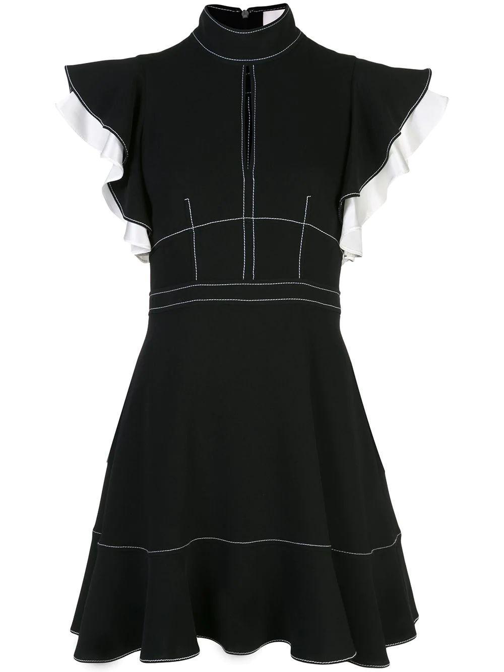 Reika Fit And Flare Ruffle Slv Dress Item # ZD10291319Z