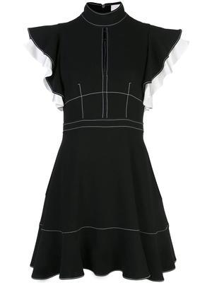 Reika Fit And Flare Ruffle Slv Dress