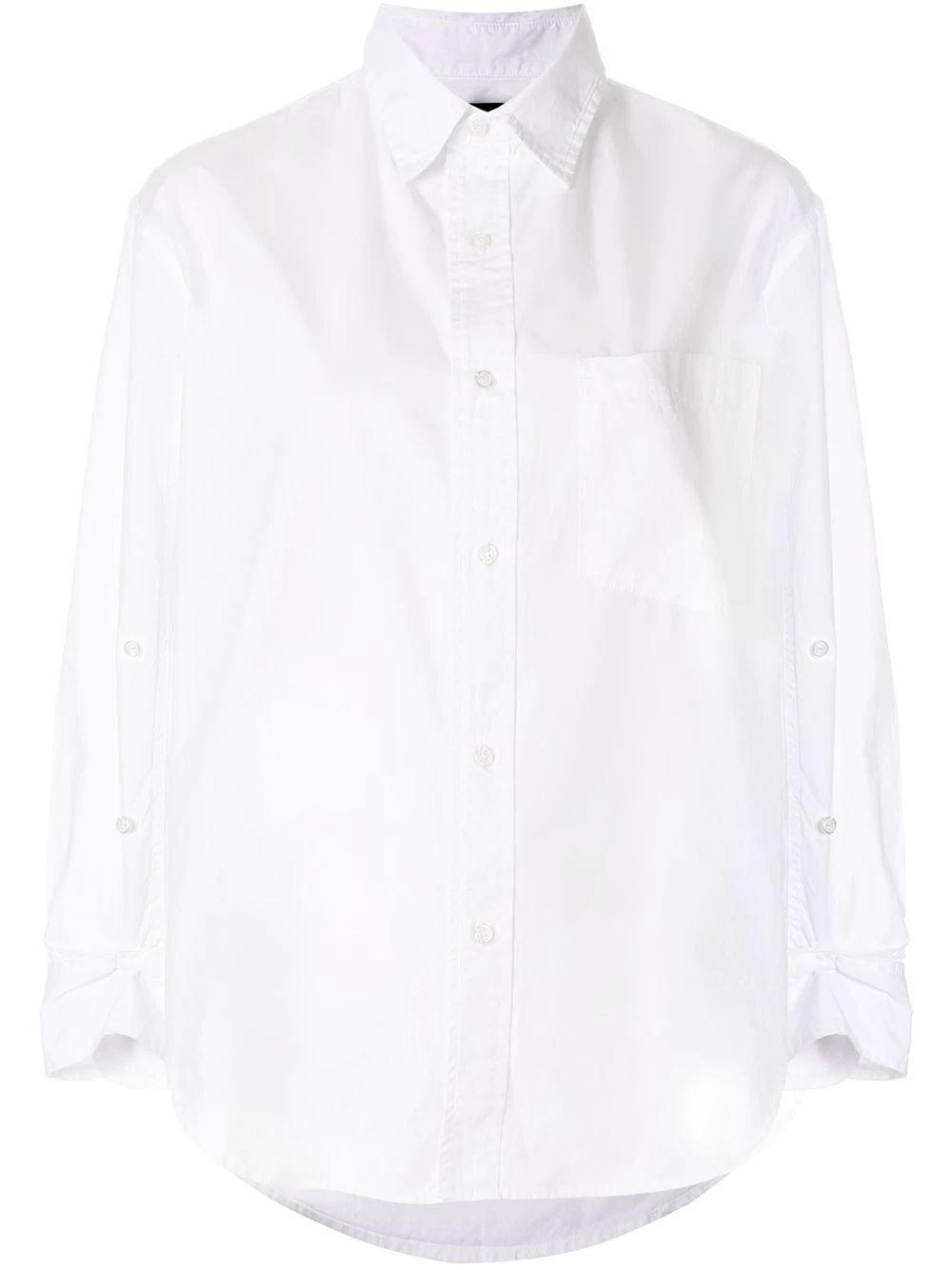 Kayla Poplin Buttondown Shirt
