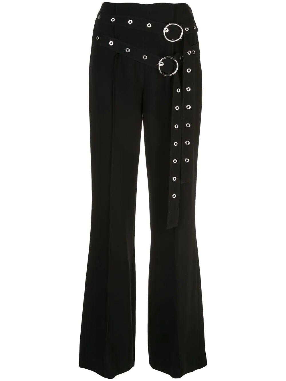 Jessi Double Belted Full Length Pant Item # ZP3371319Z