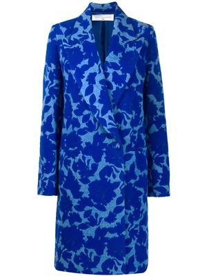 Long Jacquard Coat