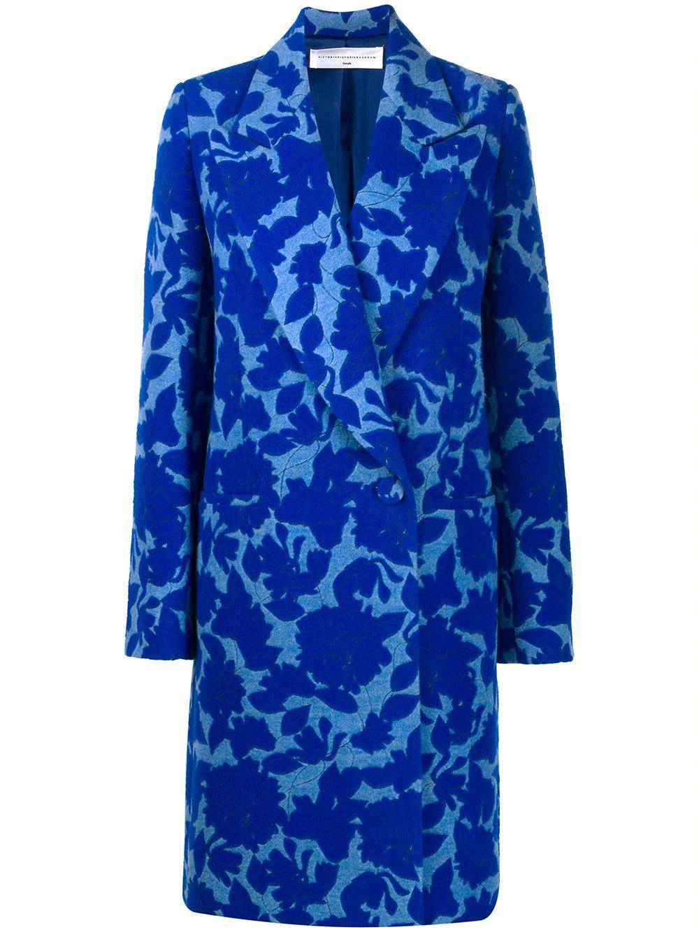 Long Jacquard Coat