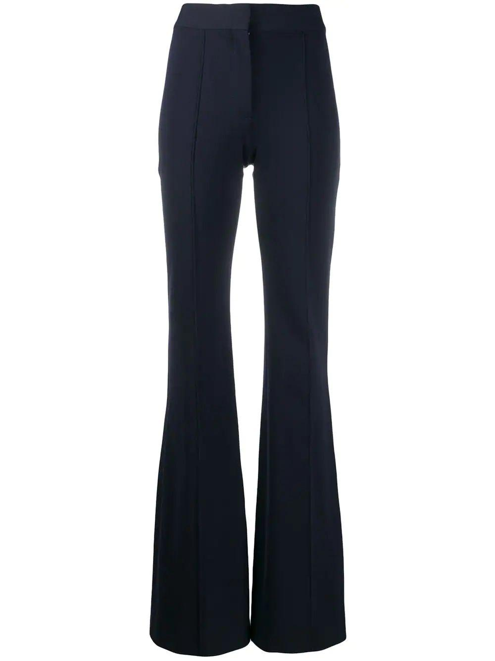 Jersey Pin Tuck Trouser