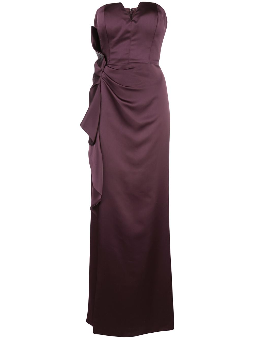 Strapless Long Dress Item # MD1E204773
