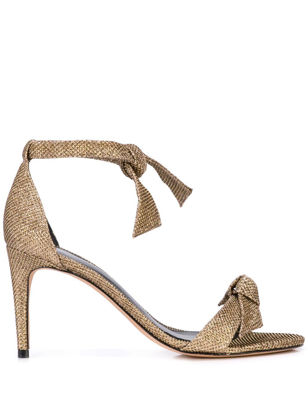 Clarita 75mm Metallic Sandal