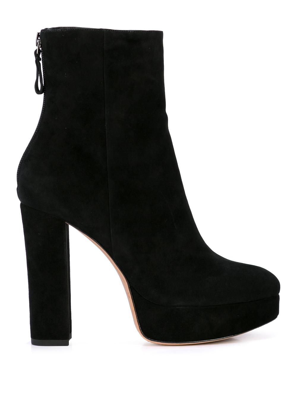 Rachel 130mm Platform Bootie With Black Heel