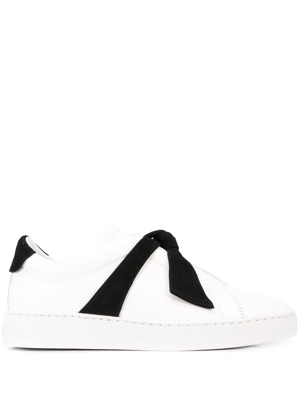 Clarita Sneaker With Tie Detail