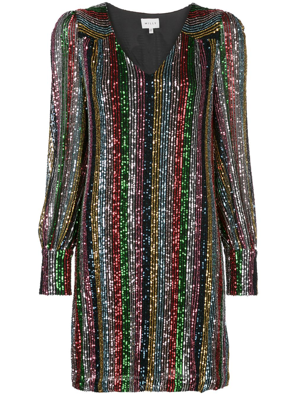Lylah Blouson Sleeve Dress