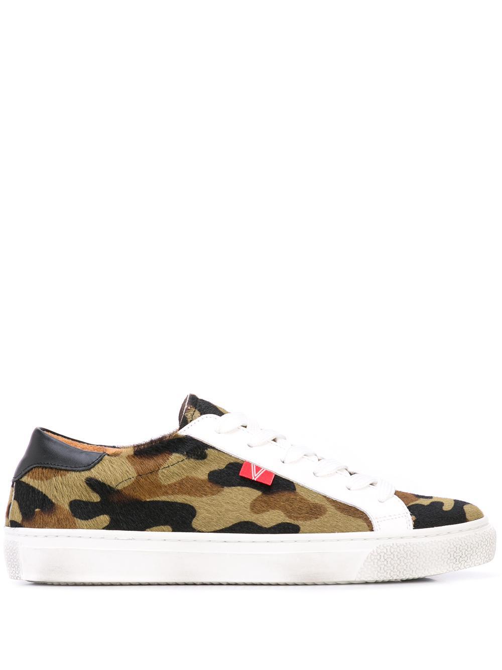 Camo Laceup Sneaker Item # F190812HC