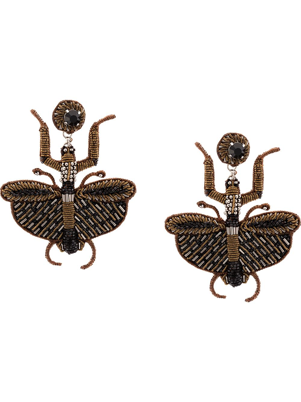 Chione Dragonfly Earrings Item # F19-637E