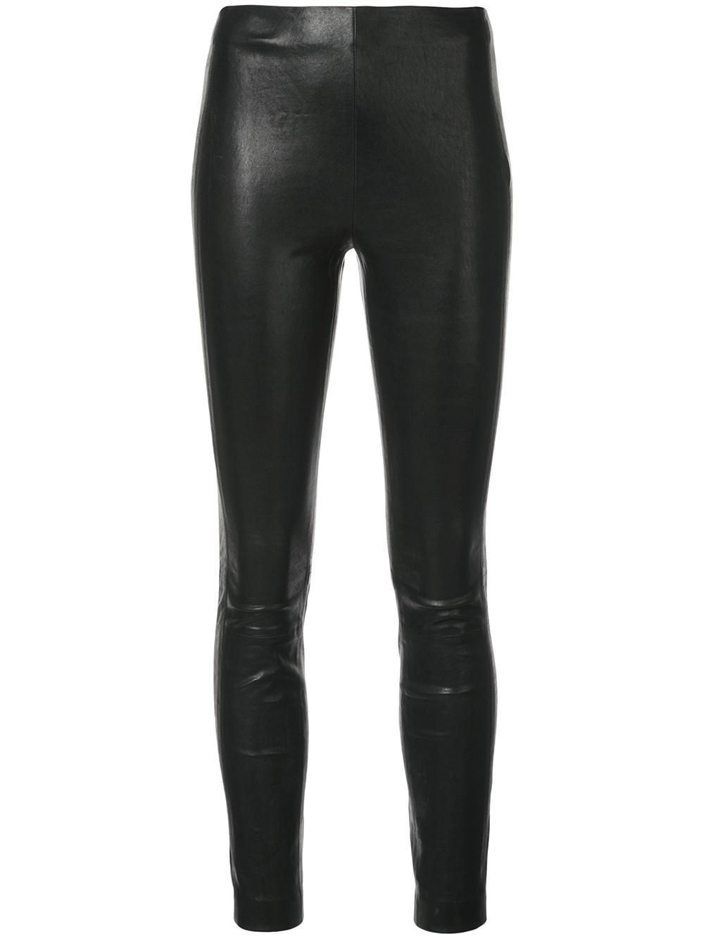 Simone Leather Pant Item # WAW19F7051L251