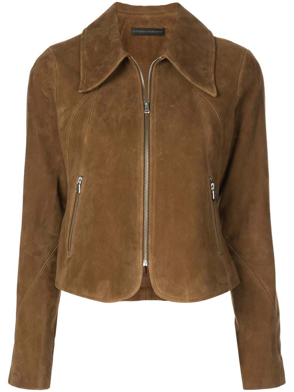 Iona Suede Open Jacket