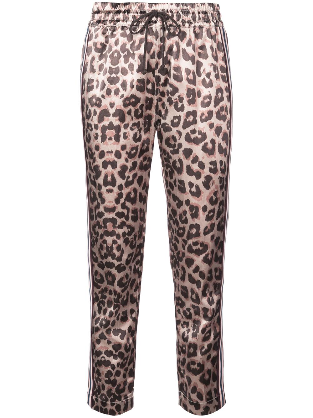 The Leopard Lounger Racer Ankle