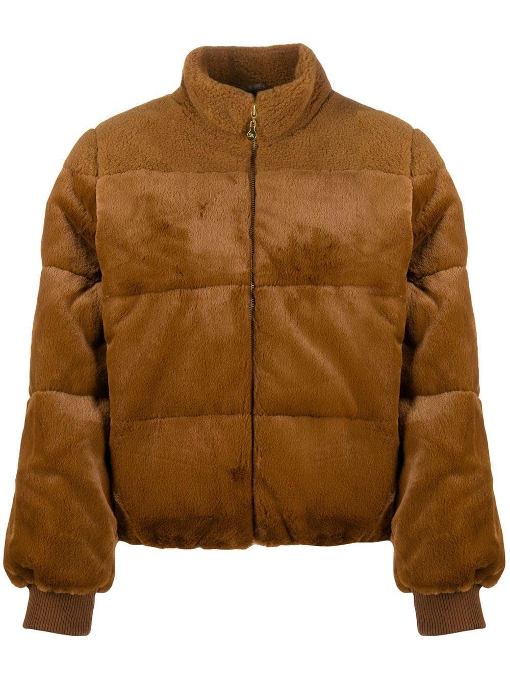 Aria Faux Fur Outerwear Coat Item # SG2660