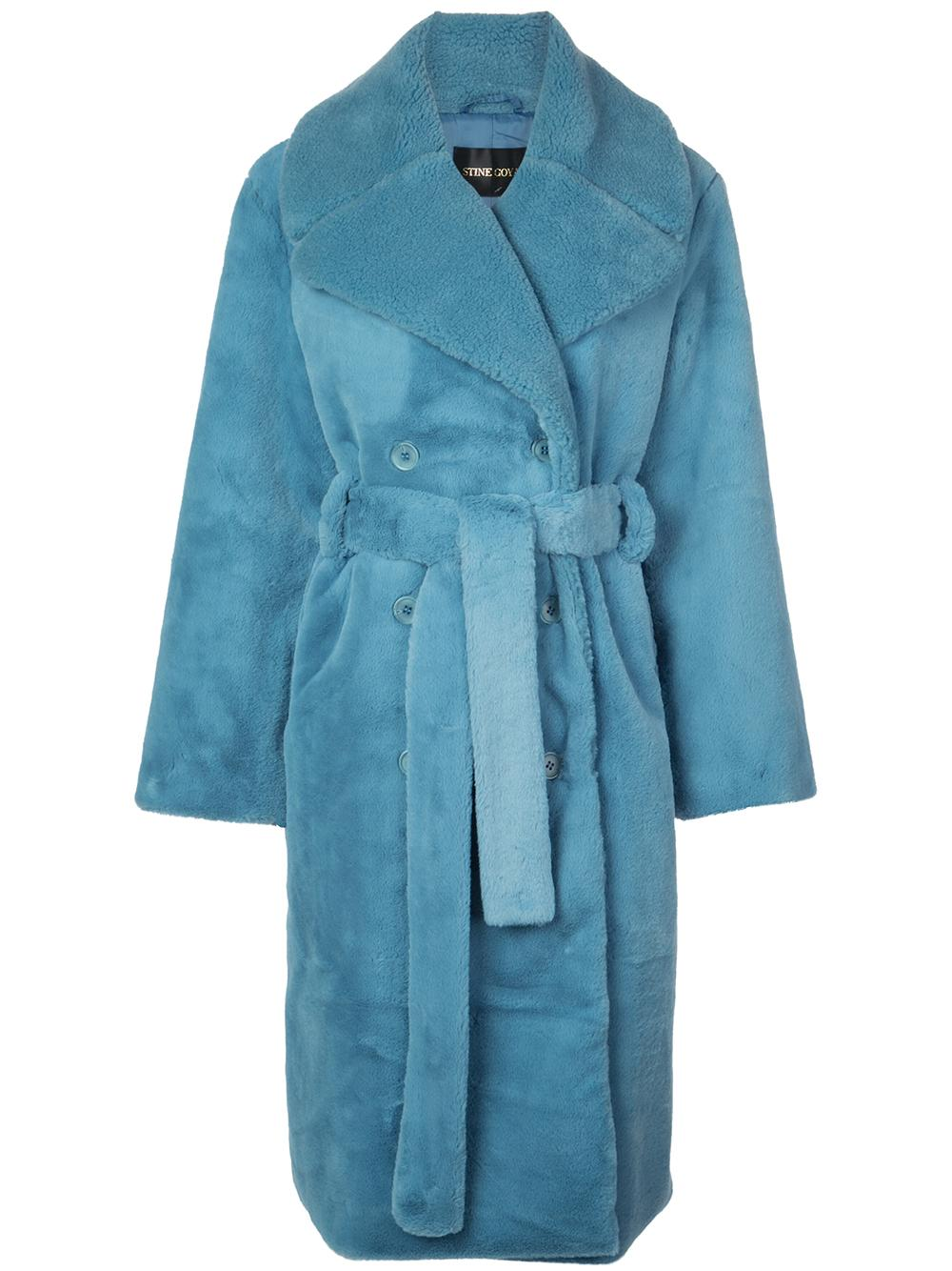 Happy Faux Fur Long Coat Item # SG2661