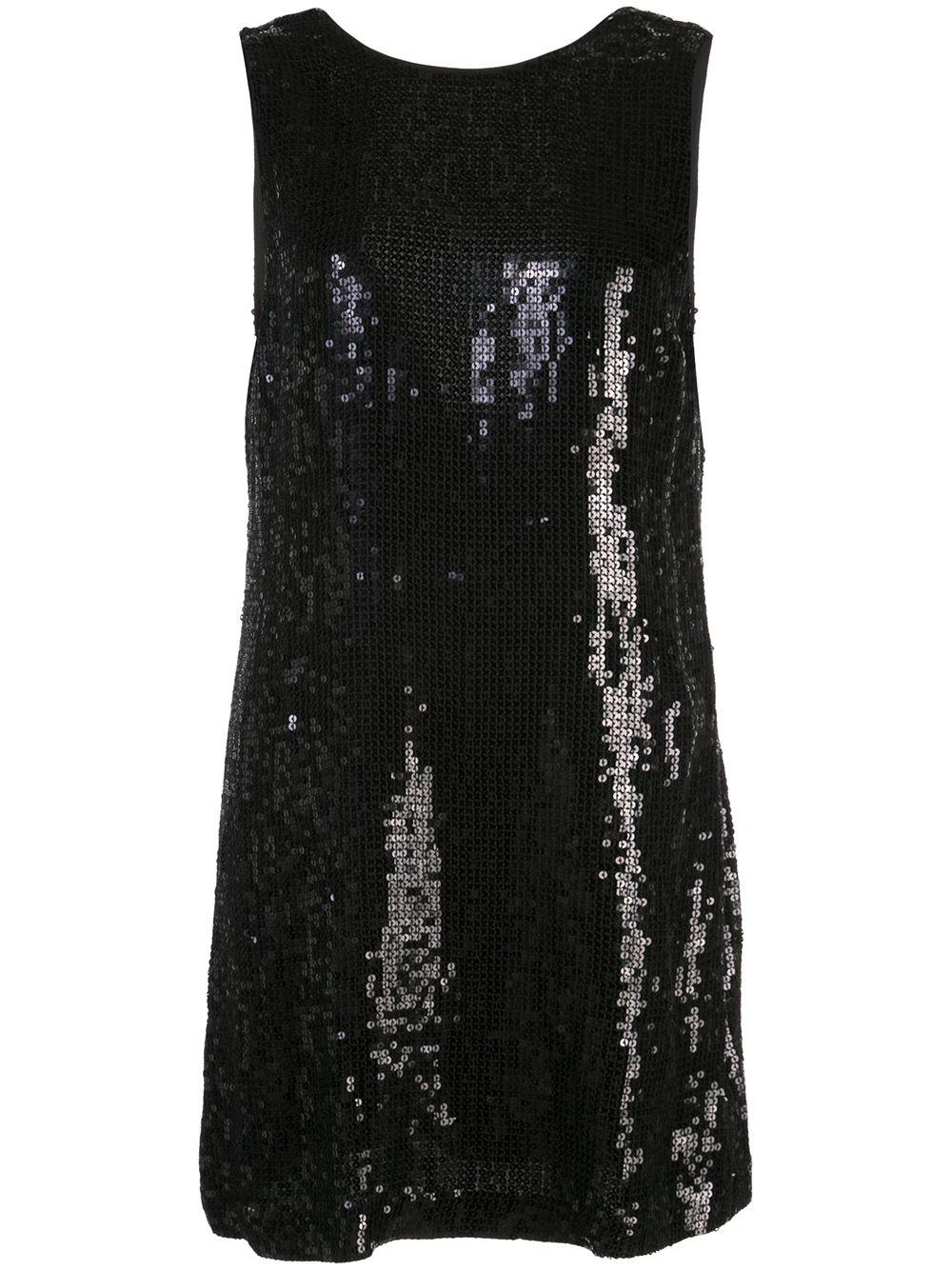 Kamryn Sequin Cowl Back Dress Item # CC909E54529