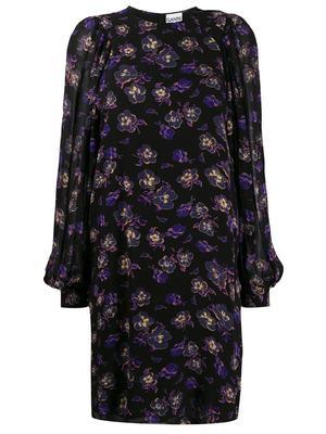Printed Georgette Shift Dress