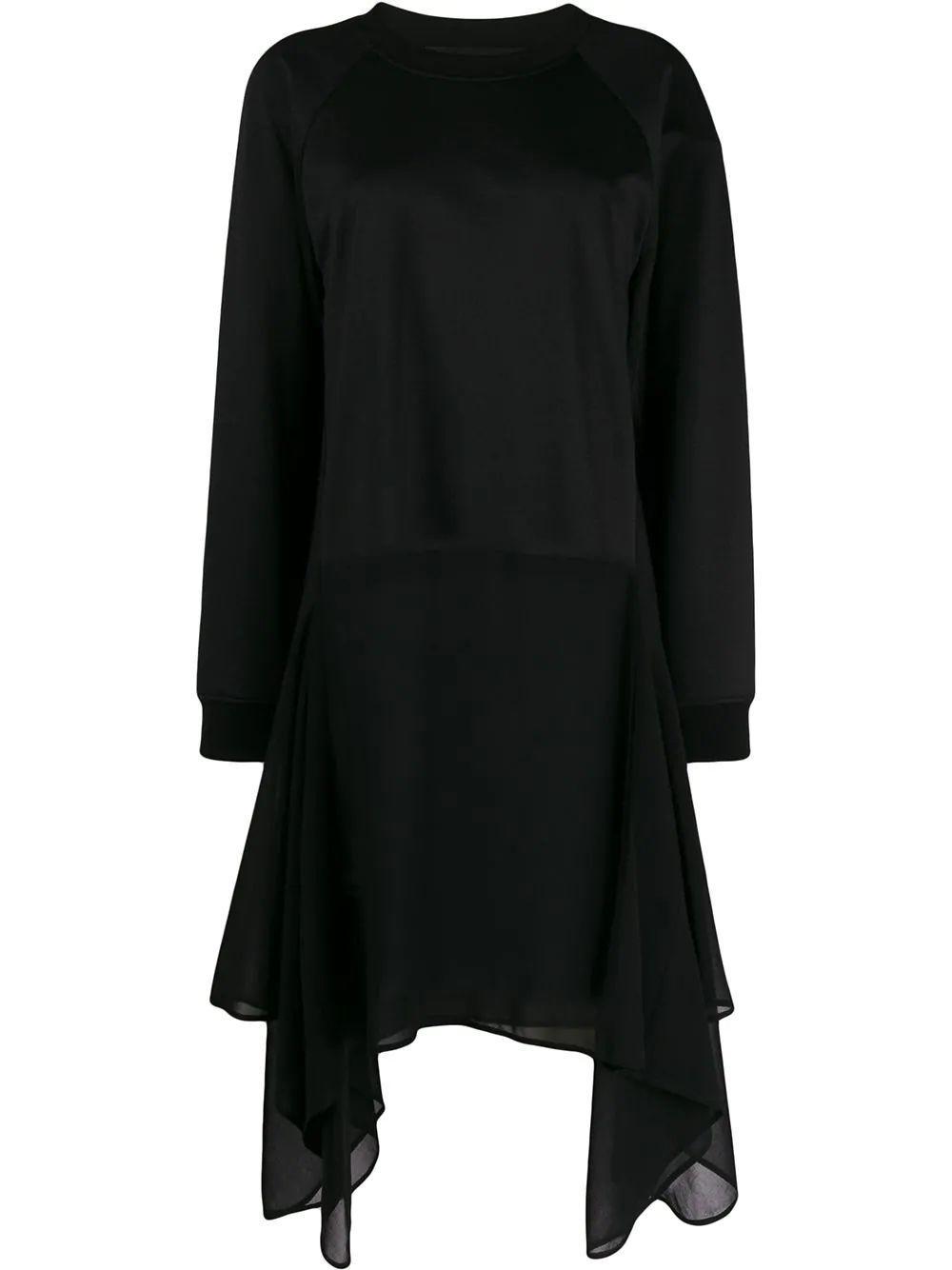 Sweatshirt Top With Georgette Bottom Item # U1340-UER