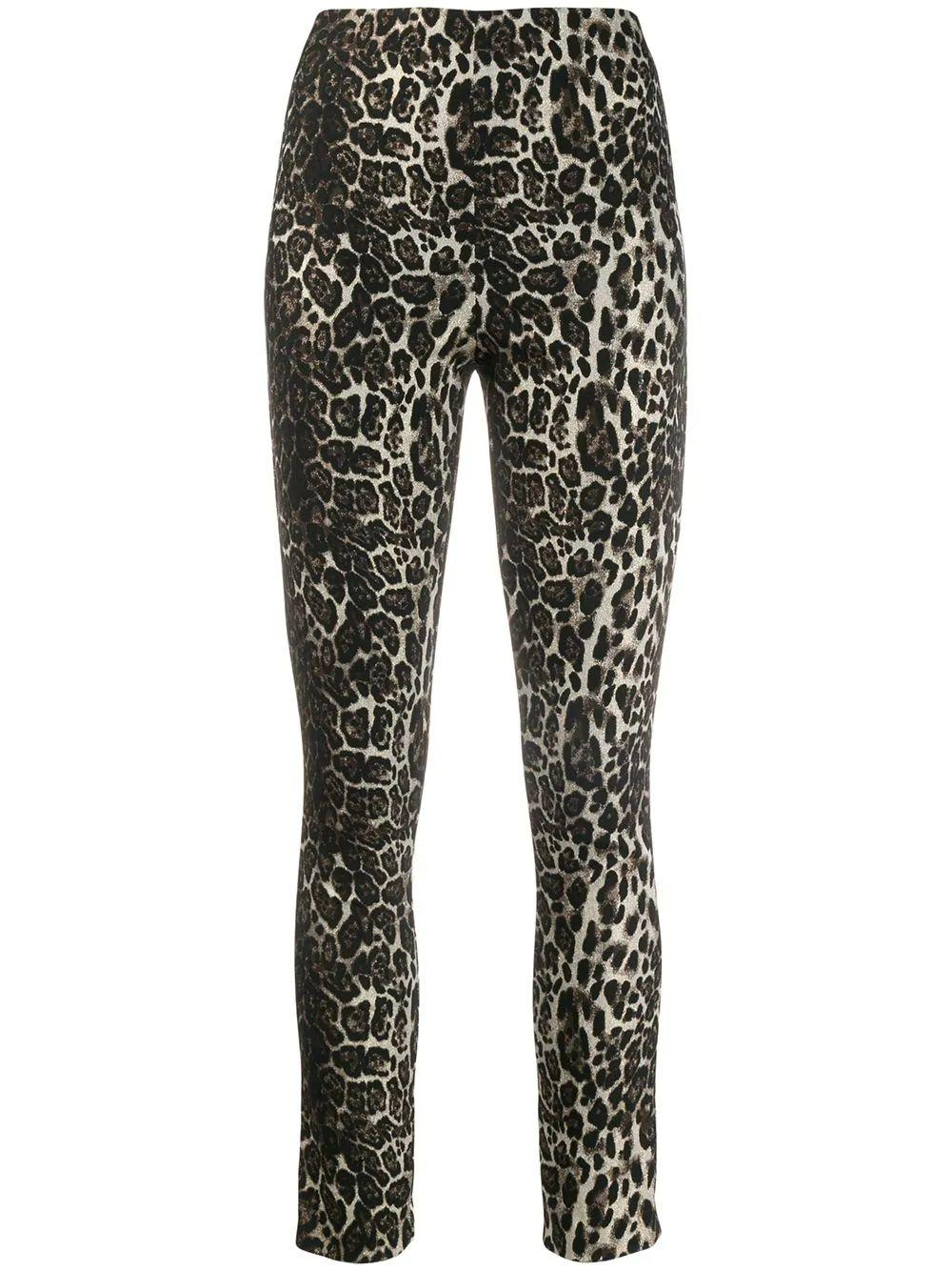 Connley High Waisted Fitted Slim Leg
