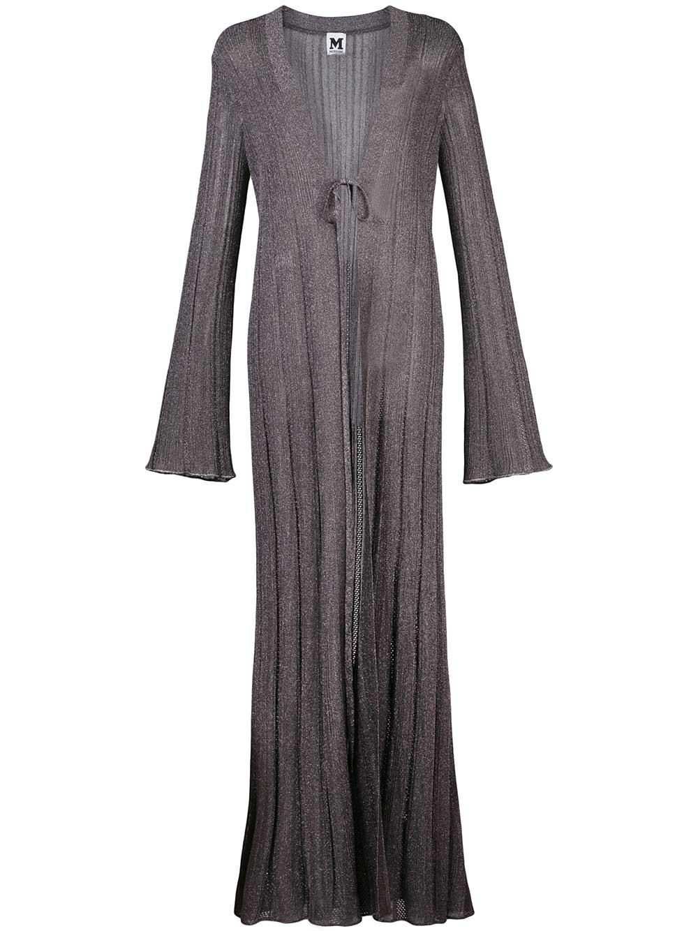 Long Sleeve Lurex Long Cardigan Item # 2DM00066-2K003I