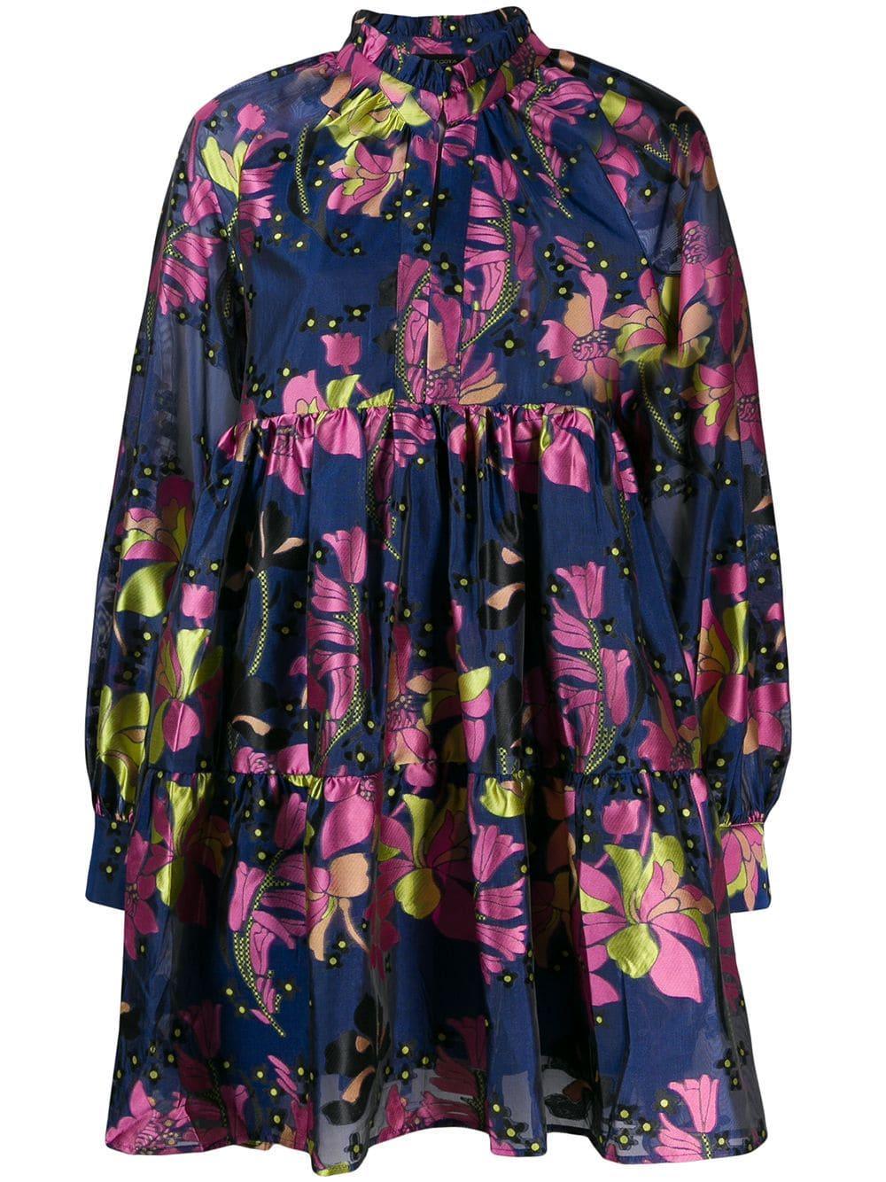 Jasmine Long Sleeve Daffodil Dress
