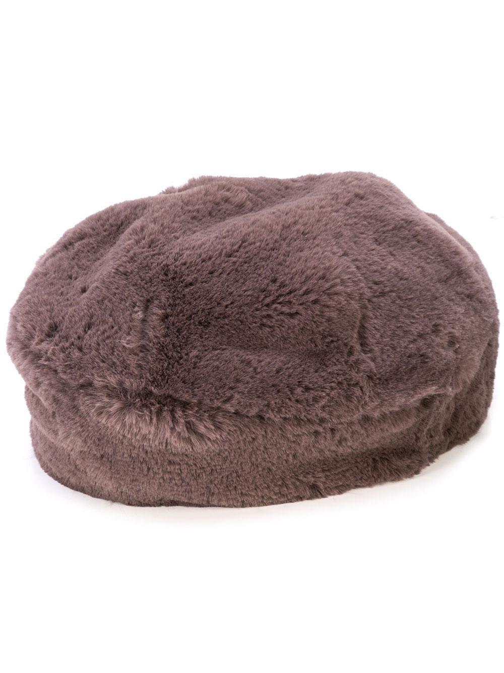 Mishka Faux Fur Beret