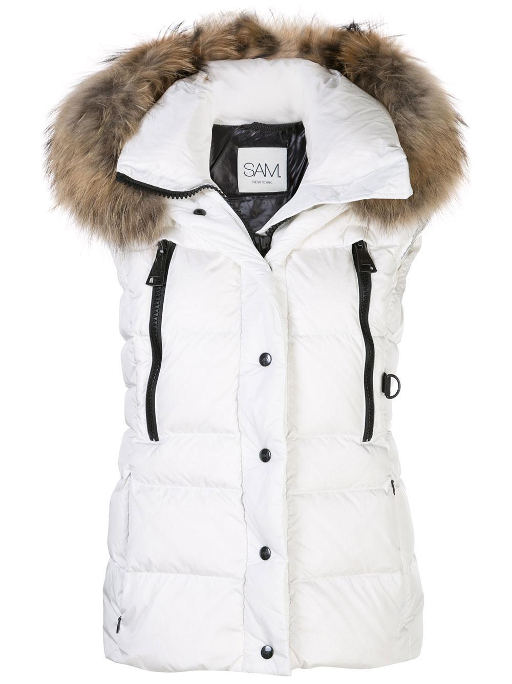 Legacy Matte Down Vest With Fur Hood