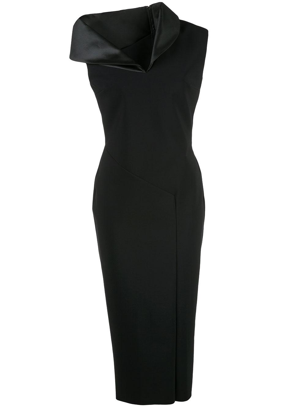 Side Cuff Sheath Dress